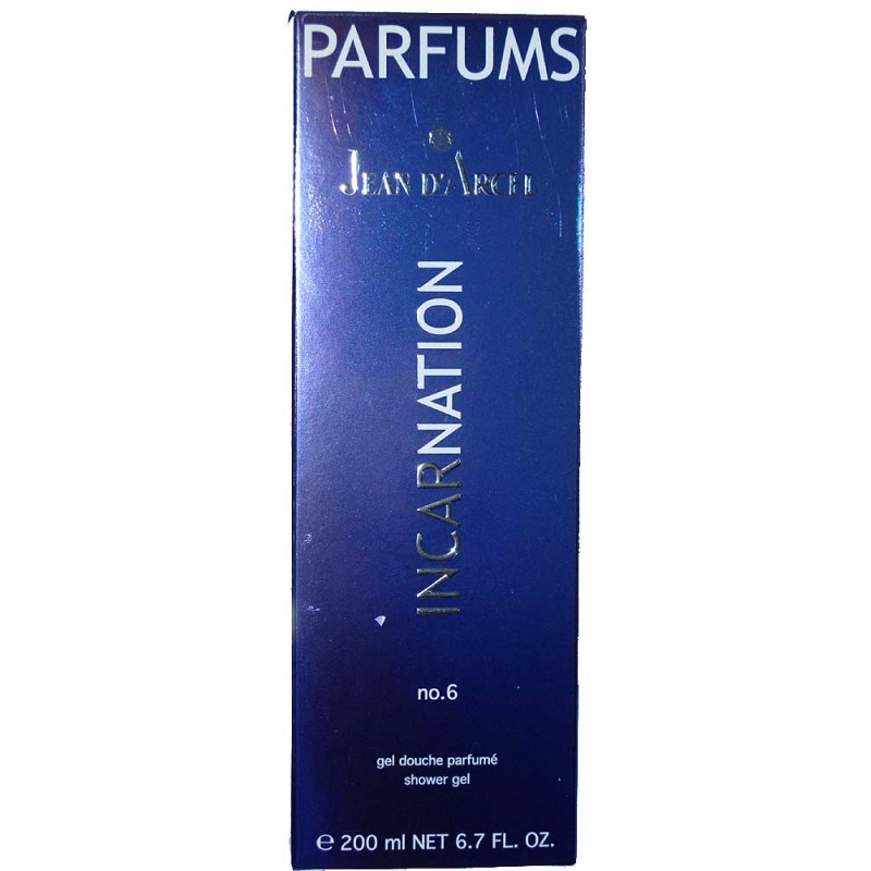 Jean d´Arcel INCARNATION no.6 gel douche parfumé